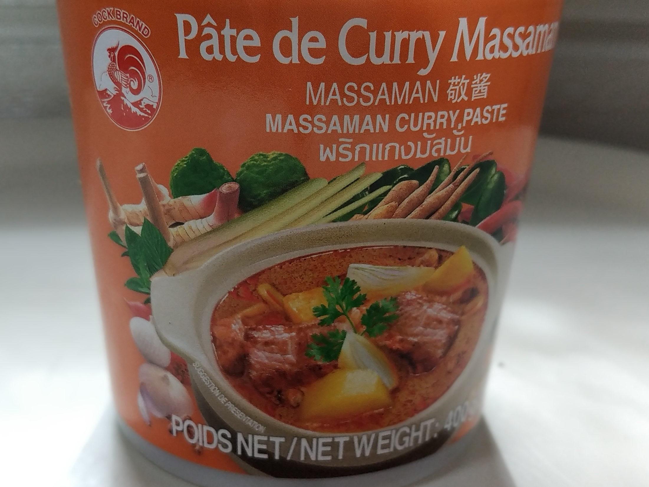 Pate De Curry Matsaman - Produit