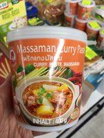 Pate De Curry Matsaman - Informations nutritionnelles