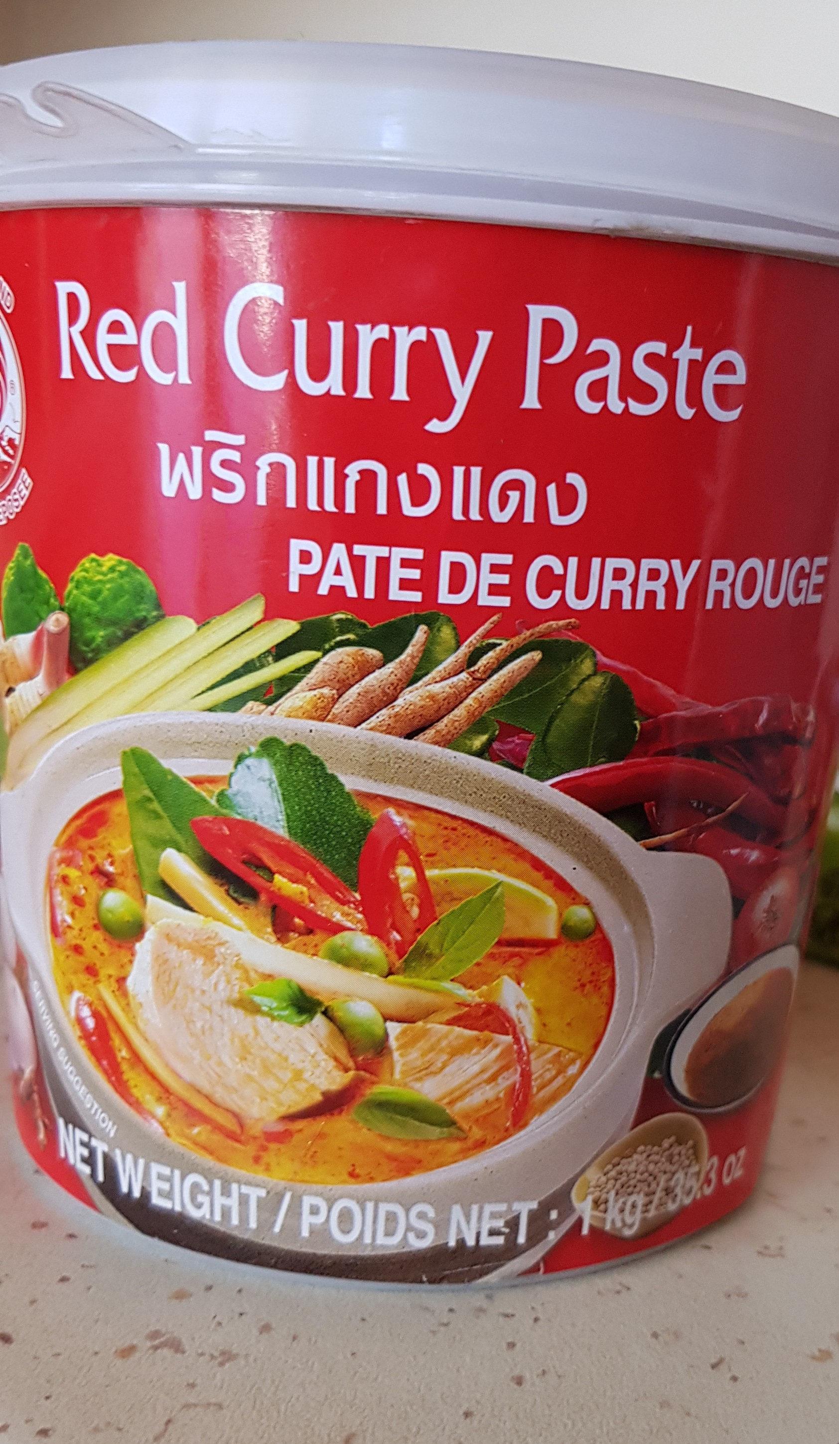 Red Curry Paste - Produit - fr