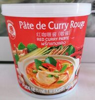 Red Curry Paste - Product - fr