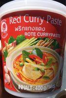 Pâte de Curry Rouge - Voedingswaarden