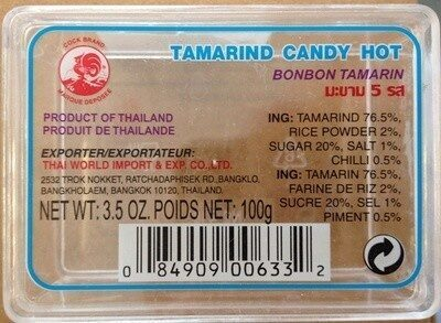 Tamarind candy hot - Produit - fr