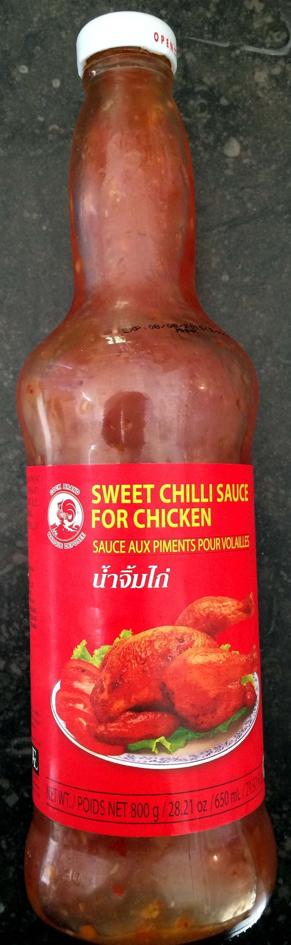 Sweet Chilli Sauce For Chicken Cock Brand 650ml