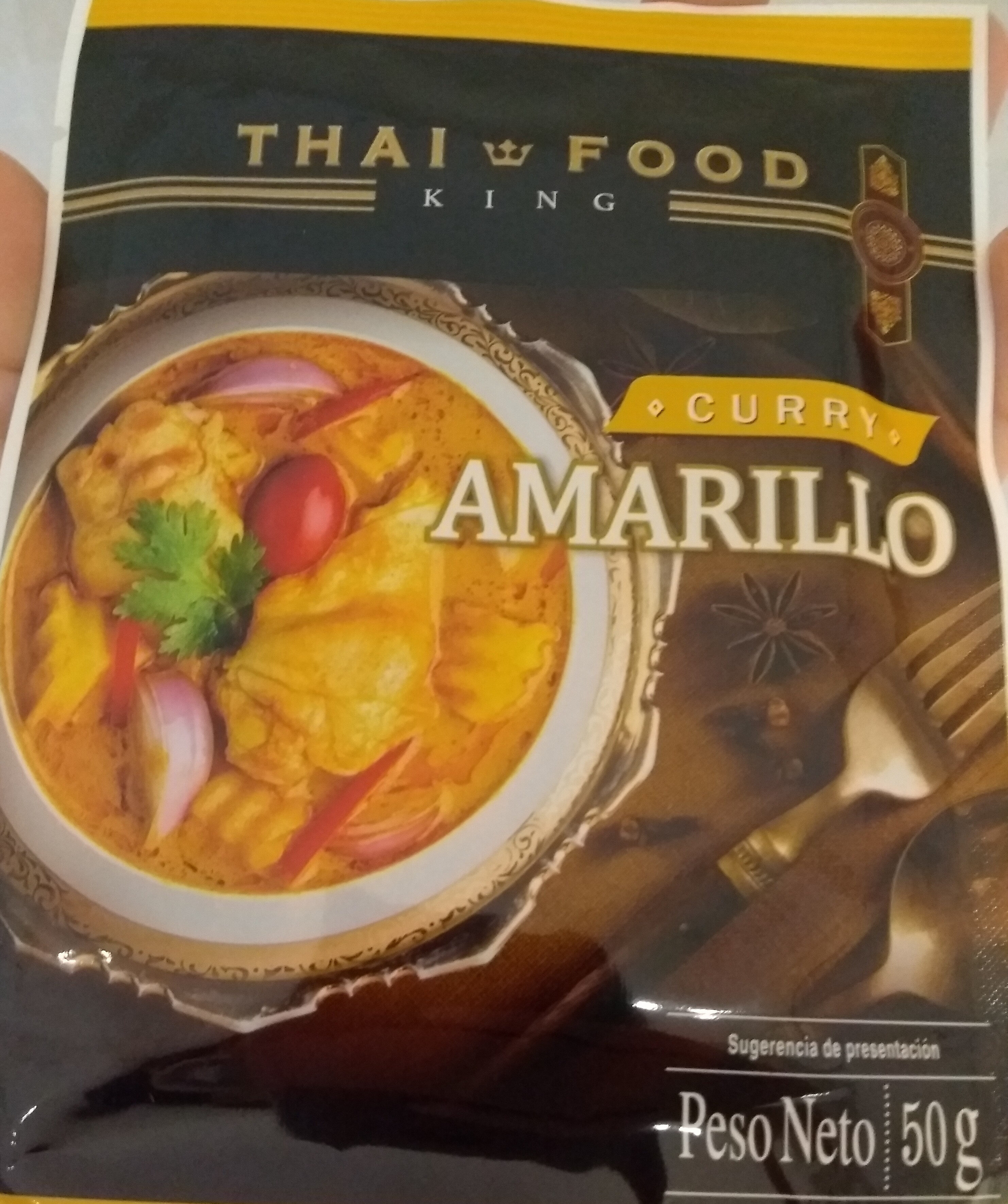 Curry amarillo - Producte - es