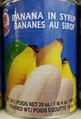 Bananes au Sirop - Produit - fr