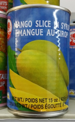 Mangue au sirop - Product