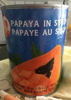 Papaye au sirop - Product