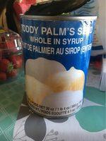 Fruit Du Palmier Au Sirop Entier Cock - Voedingswaarden