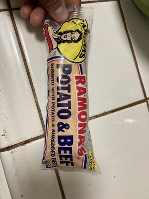 Ramona's Burritos Potato and Beef - Product - en