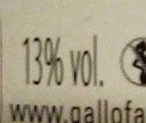 Cabernet Sauvignon 2012 - Nutrition facts - fr