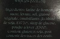 Toast Ambachtelijk Gebakken - Ingrediënten - fr