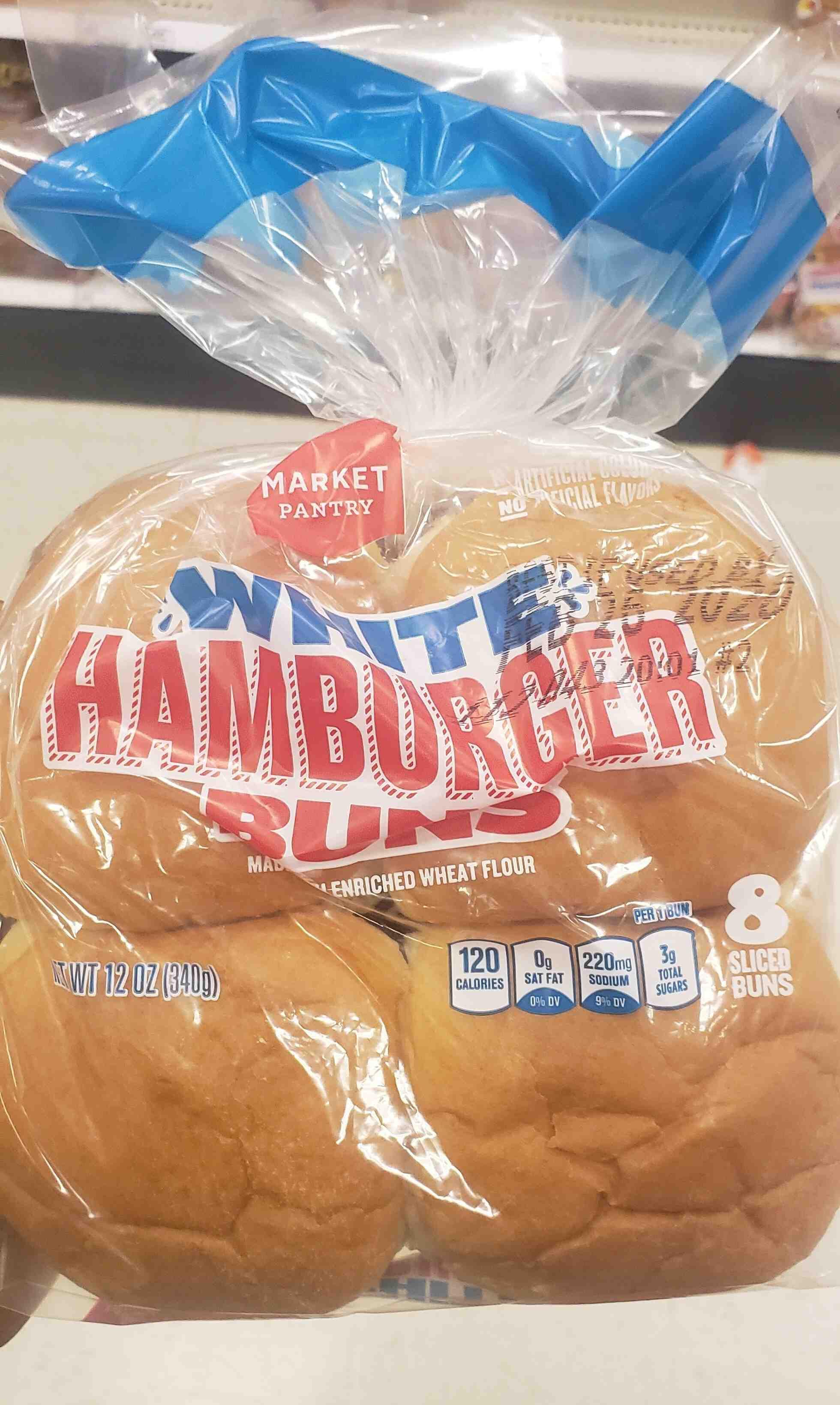 White amburger buns - Product - en