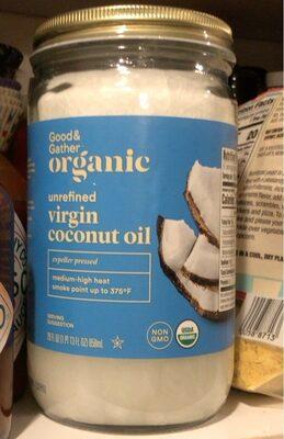 Organic Unrefined Virgin Coconut Oil - Product - en