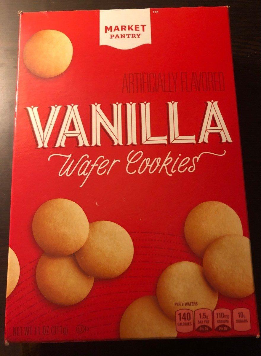 Vanilla wafer cookies - Produit