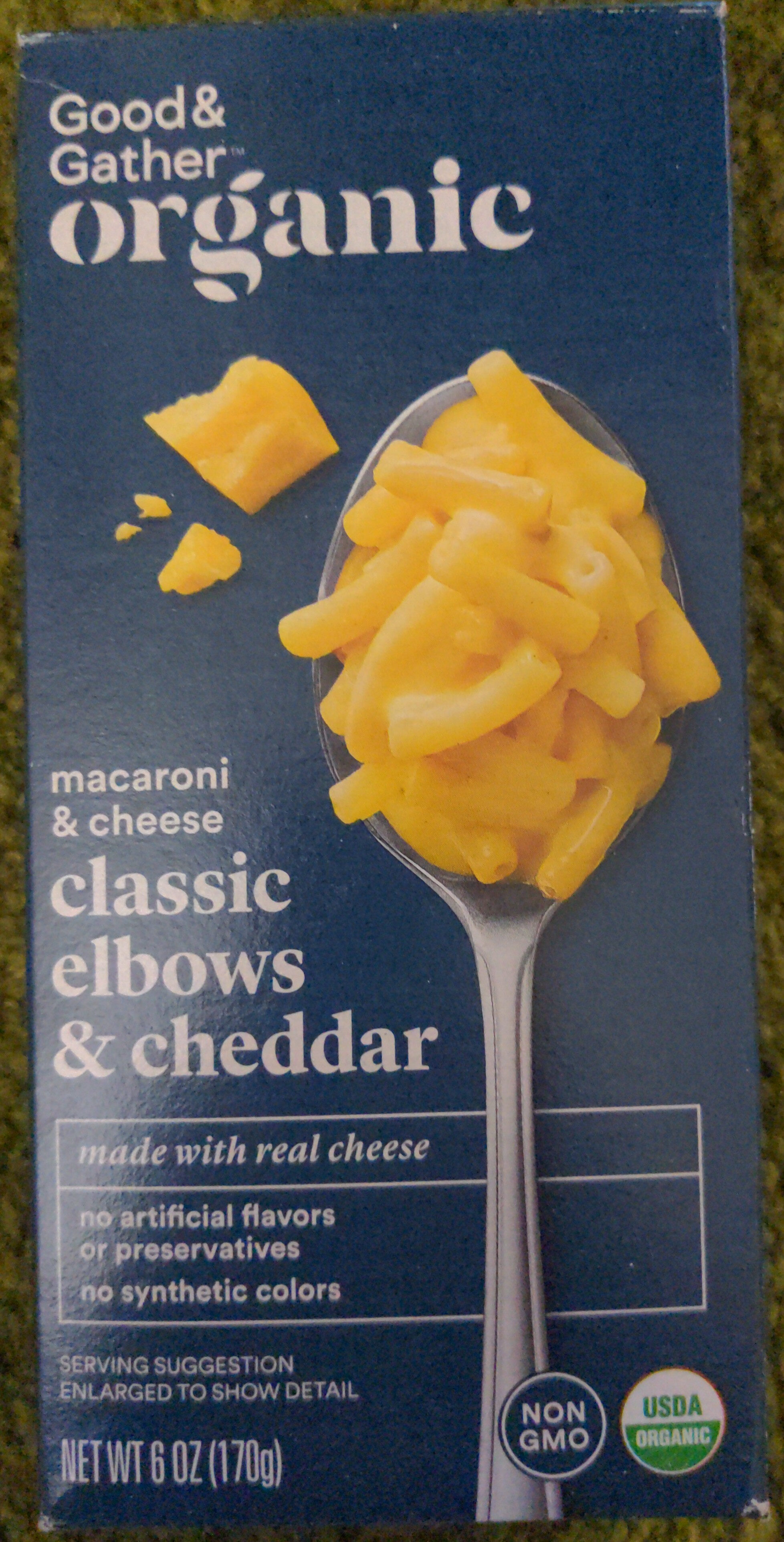 classic elbows and cheddar - Product - en