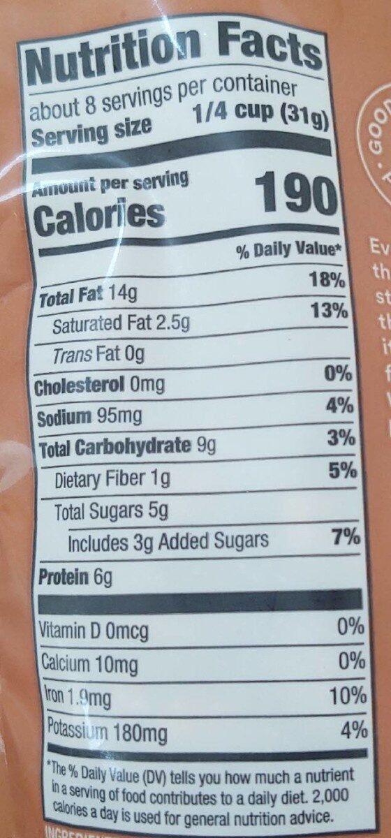 Honey Roasted Cashews - Informations nutritionnelles - en
