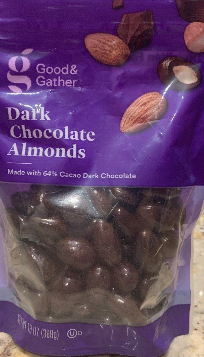 Dark Chocolate Almonds - Product - en