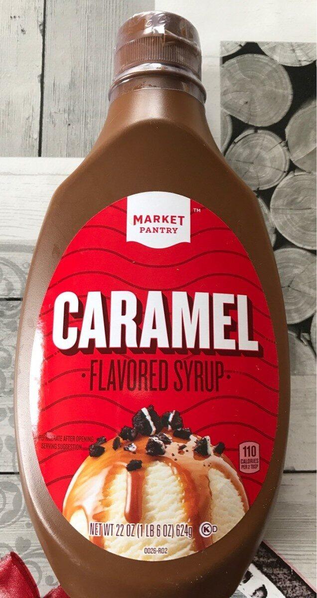 Caramel syrup - Product - en