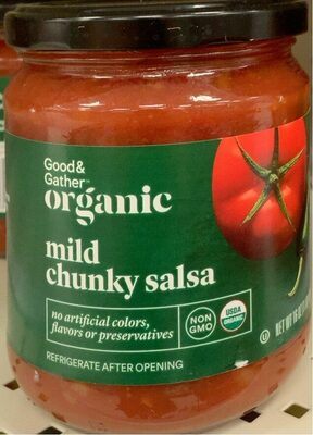 Organic Mild Chunky Salsa - Product - en