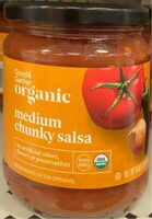 Organic Medium Chunky Salsa - Product - en