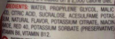 Strawberry watermelon liquid water enhancer, strawberry watermelon - Ingredients - en
