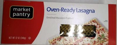 Oven-Ready Lasagna - Produit