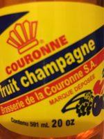 Cola Couronne Fruit Champagne - Produit - fr