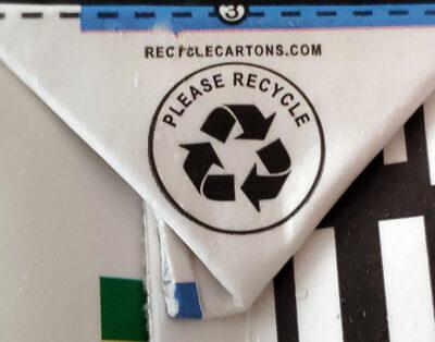 Morinu silken tofu firm - Istruzioni per il riciclaggio e/o informazioni sull'imballaggio - it