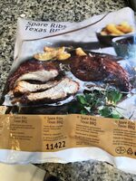 Spare ribs texas bbq - Produkt