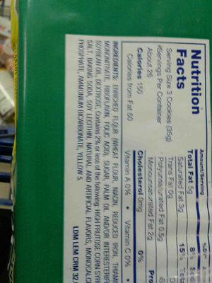 Lil Dutch maid lemon creme - Ingredients