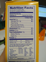 vanilla wafers - Nutrition facts