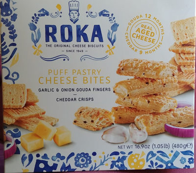 Roka The Original Cheese Biscuits - Produit - en