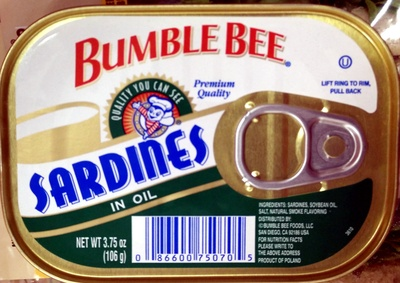 Sardines in oil - Product