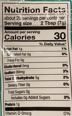 Ceasar Croutons - Nutrition facts - en
