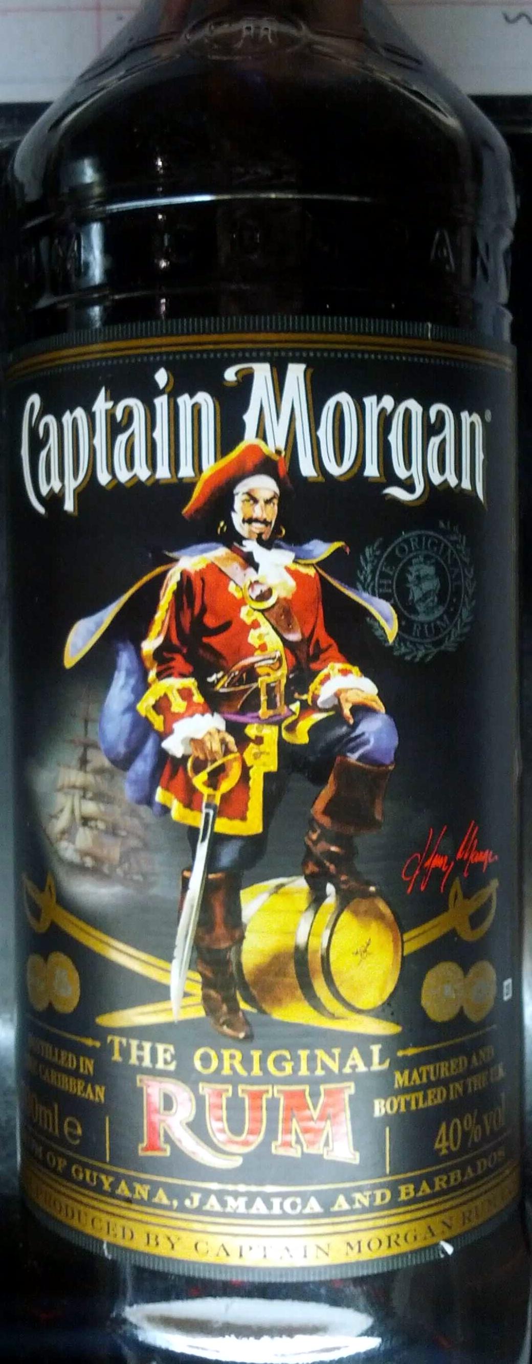 Captain Morgan Rum - Produit - en