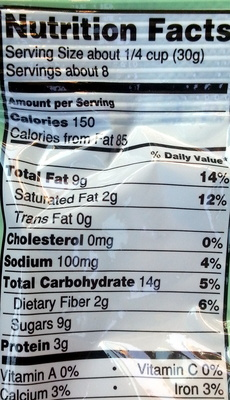 Caribbean mix - Nutrition facts - en