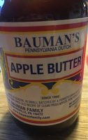 Apple butter - Produit