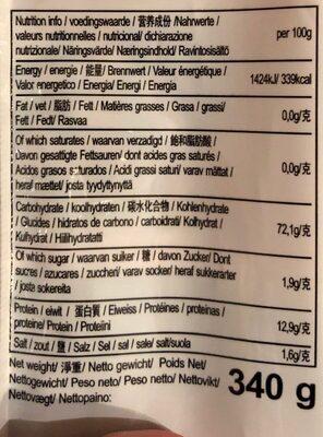 Nouille a la creme - Voedingswaarden - nl