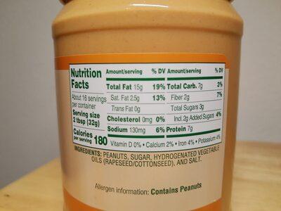 Creamy Peanut Butter - 3