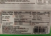 Crêpe de riz doux - Informations nutritionnelles