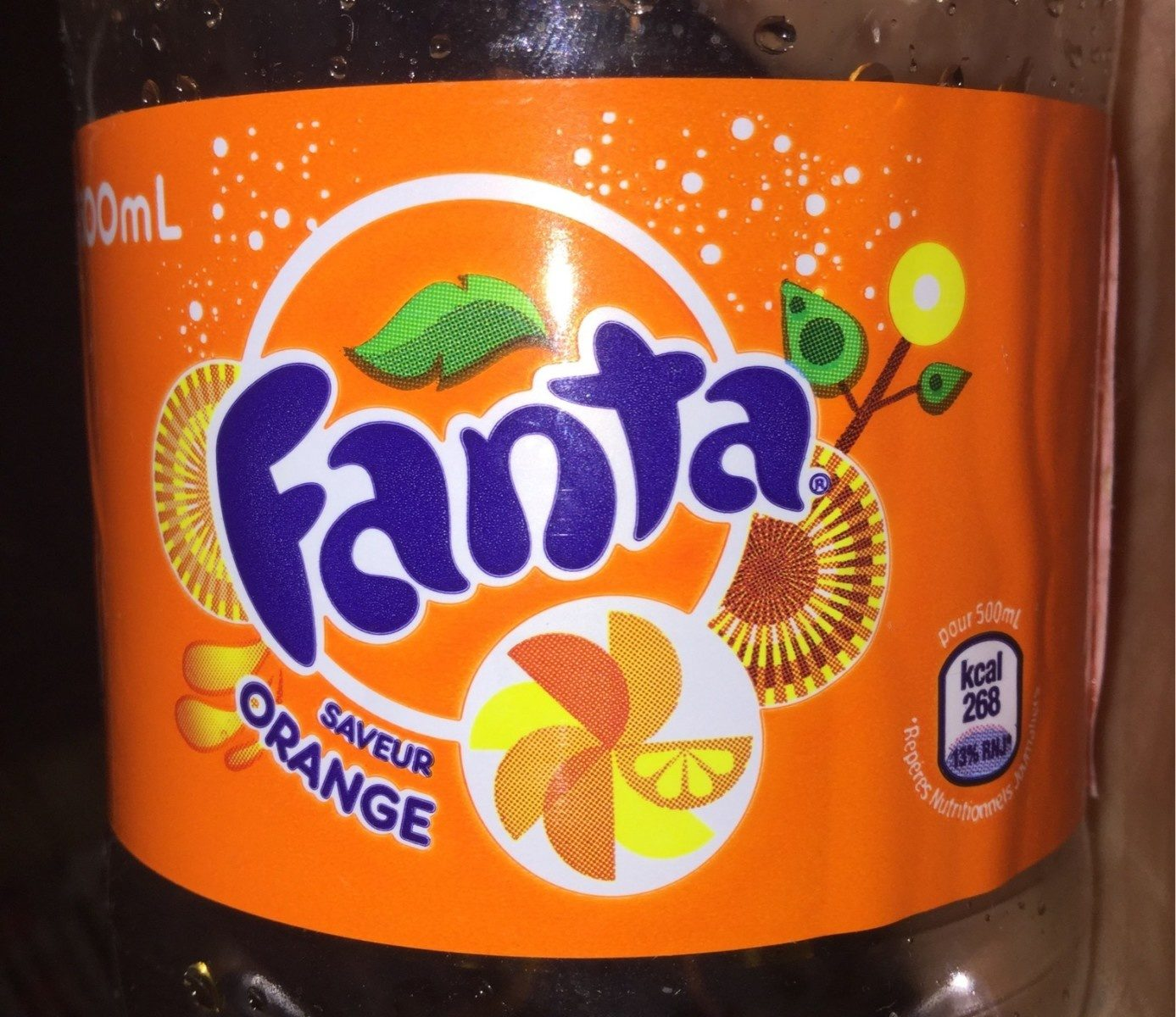 Fanta saveur orange - Product