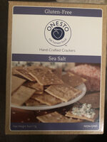Hand crafted crackers, Sea Salt - Product