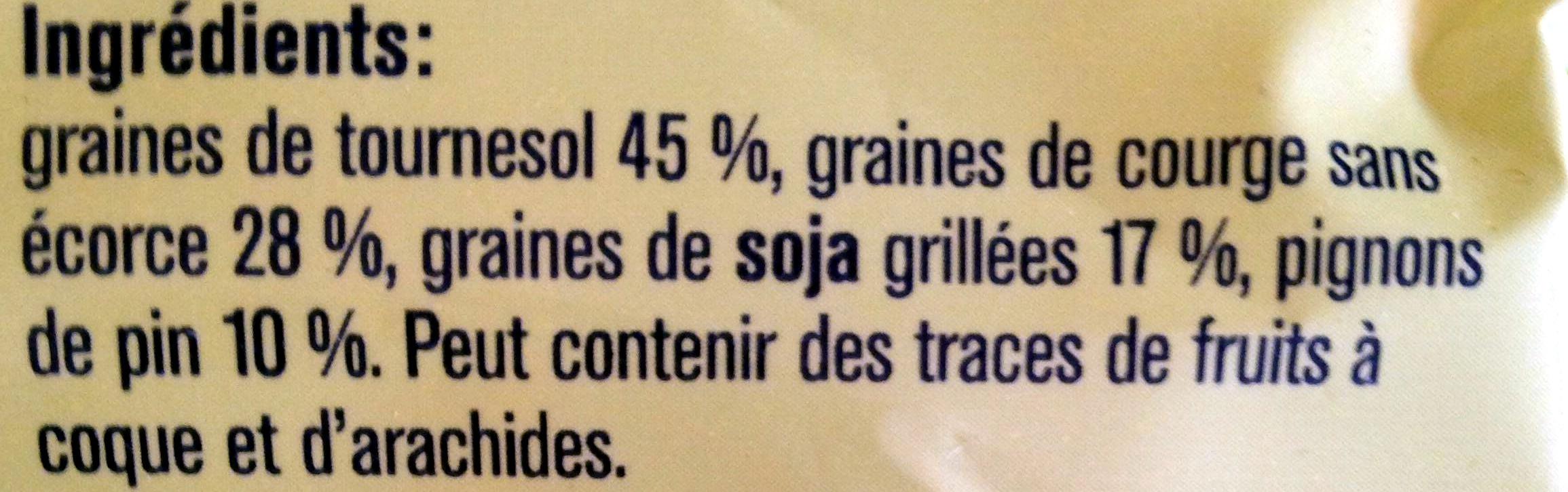 croque vital - Ingredients