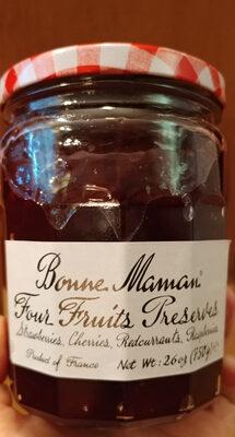 Bonne Maman 4 fruits preserves - Product