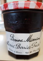 Mixed Berries Preserves - Product