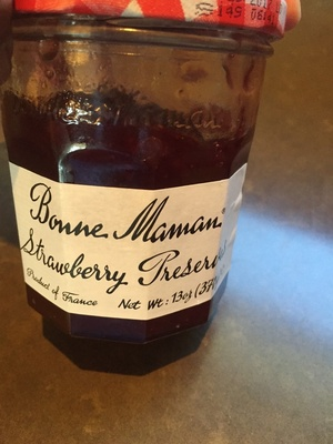 Strawberry preserves - Product - en