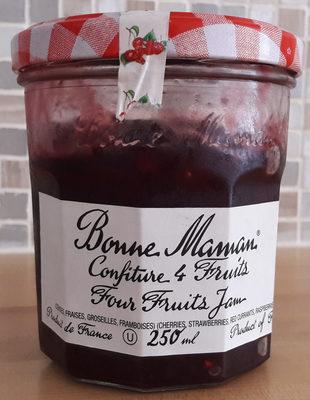Confiture 4 Fruits - Produit - fr