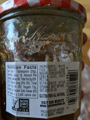 Fig preserve - Product - en