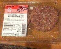 Burguer meat extra con cebolla - Prodotto - es