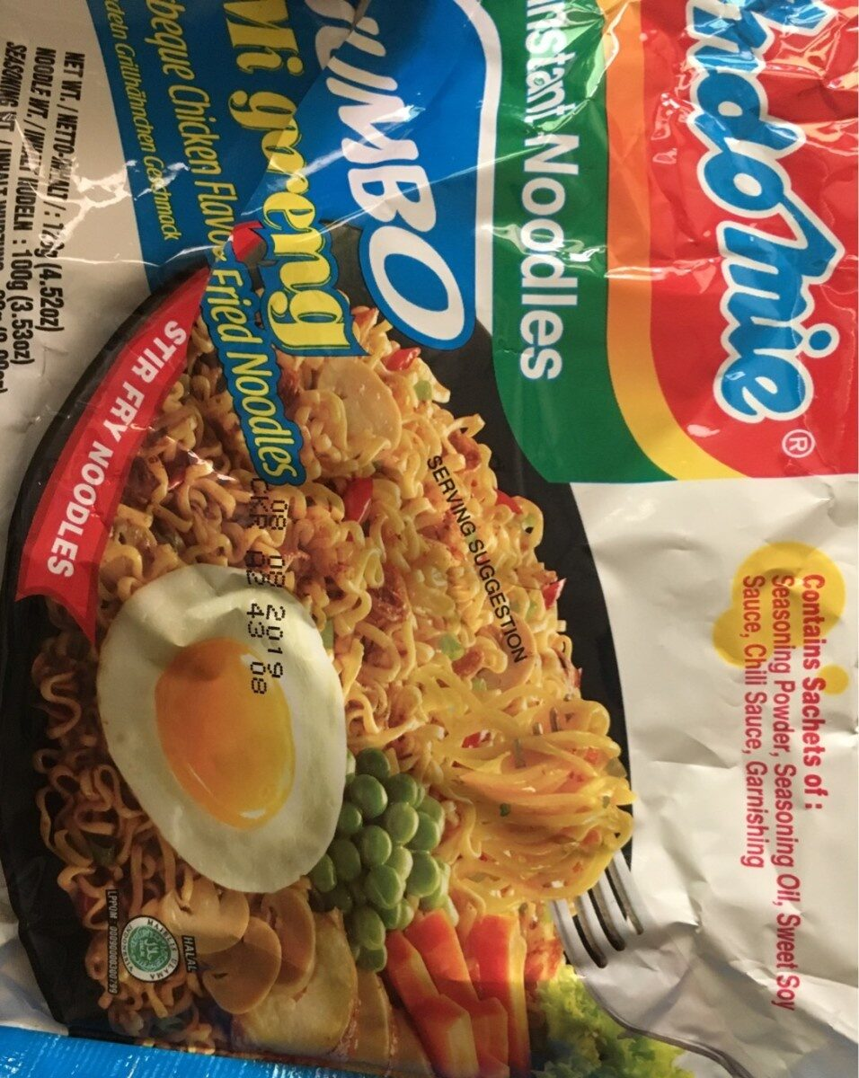 Nouilles Indomie Mie Goreng Jumbo - Product - fr